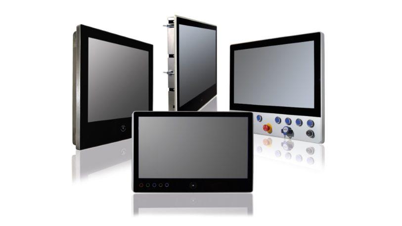 Das Produktsortiment von ROSE wird durch die Panel PC, Industrie-Monitore und Embedded PC von CRE optimal ergänzt. (Bild: Rose Systemtechnik)