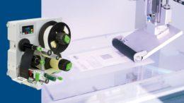 Druck- und Etikettiersystem Hermes Q (Bild: cab Produkttechnik GmbH & Co KG)