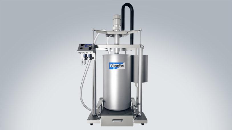 ViscoTec Fassentnahmesystem (Bild: ViscoTec Pumpen- u. Dosiertechnik GmbH)
