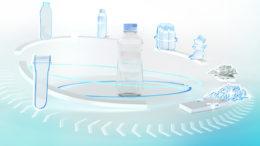 Einfach und profitabel umzusetzen: Krones' Lösungen für einen geschlossenen Kunststoffkreislauf. (Bild: Krones AG)