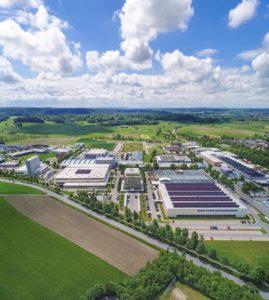Gelände der Schubert GmbH in Crailsheim