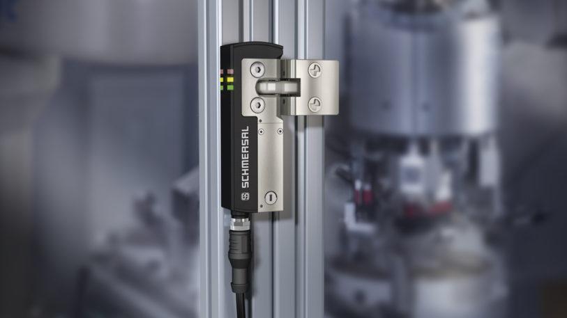 Die Sicherheitszuhaltung AZM40 verfügt über eine Zuhaltekraft von 2.000 Newton. (Bild: K.A. Schmersal GmbH & Co. KG)