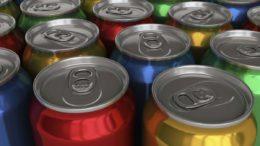 Aluminium-Kreislauf Getränkedosen
