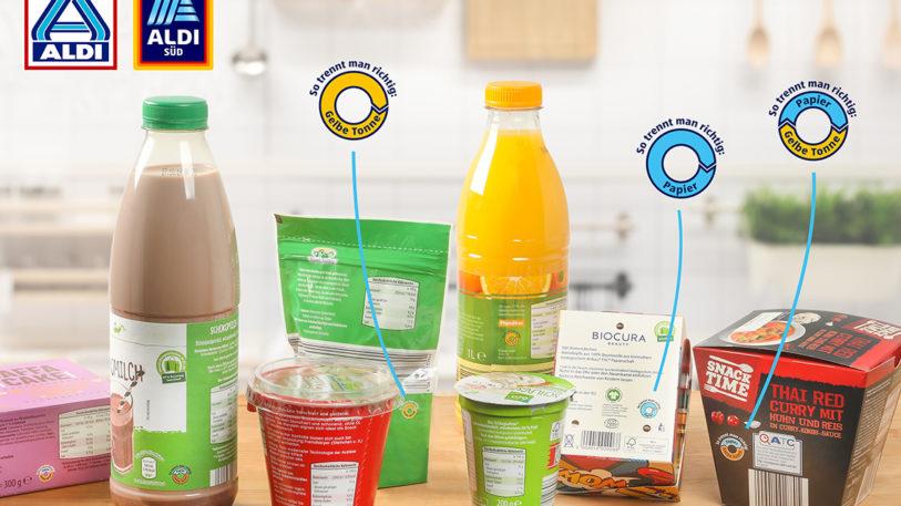 ALDI gibt Tipps für die Tonne und spart Verpackungen ein.
