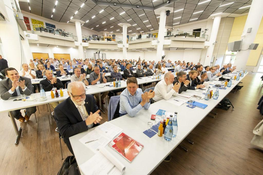 Das Pharma Forum 2019 lockte 200 Besucher aus 25 Nationen nach Schwäbisch Hall. Es war bereits die siebte Auflage des Events. (Bild: OPTIMA packaging group GmbH)