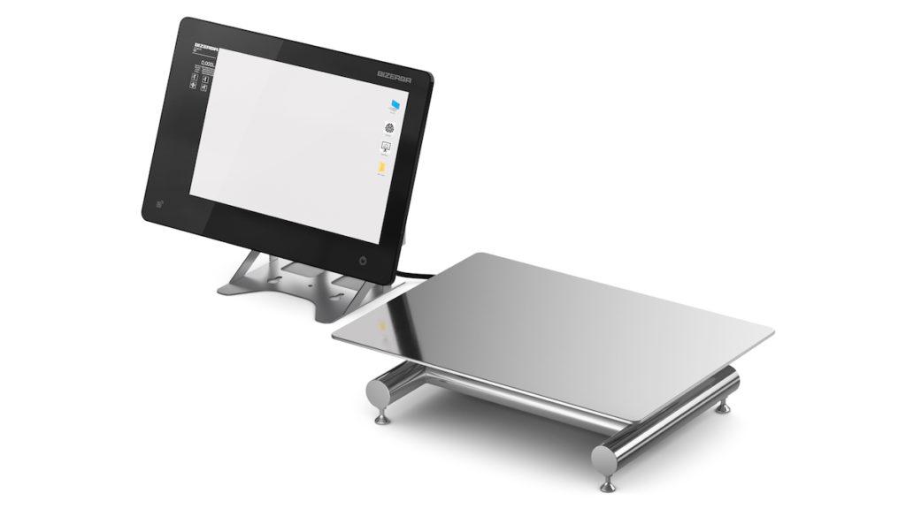 Die WM-T verwandelt die Industrie-PCs iS65 Pro und iS75 zu vollwertigen Wägeterminals. (Bild: Bizerba)
