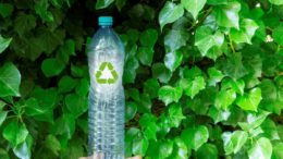 Recycling Flasche