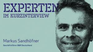 Markus Sandhöfner, Geschäftsführer B&R Deutschland (Bild: B&R Deutschland)