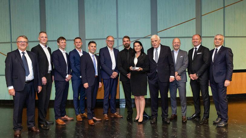 Preistraeger des Transferpreises der Steinbeis-Stiftung 2019 (Bild: Koenig & Bauer Coding)