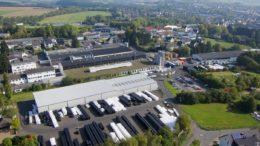 Am WERIT-Standort Altenkirchen arbeiten heute etwa 200 Mitarbeiter. (Bild: WERIT)