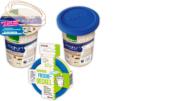 Statt Plastikdeckel gibt es ab November wiederverwendbare Mehrweg-Frischedeckel für Joghurts. (Edeka Zentrale AG & Co. KG)
