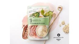 Baobab-Pulver von Naturgut – Gewinner des Pentawards 2019 (Bild: HAJOK Design)