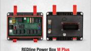 Die neue REDline Power Box M Plus ist eine robuste Lösung für die Stromversorgung in mobilen Maschinen. (Bild: Würth Elektronik ICS GmbH & Co. KG)