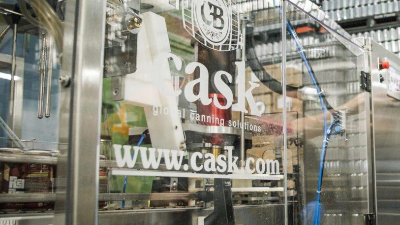 Abfüllanlage von Cask