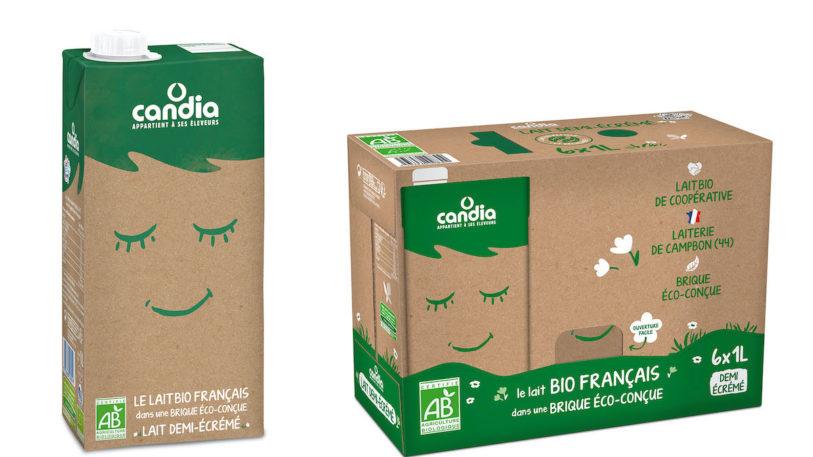 Die aluminiumfreie aseptische Kartonpackung Signature Pack 100 von SIG wurde Anfang des Jahres mit Candia auf dem französischen Markt gelauncht. (Bild: SIG)