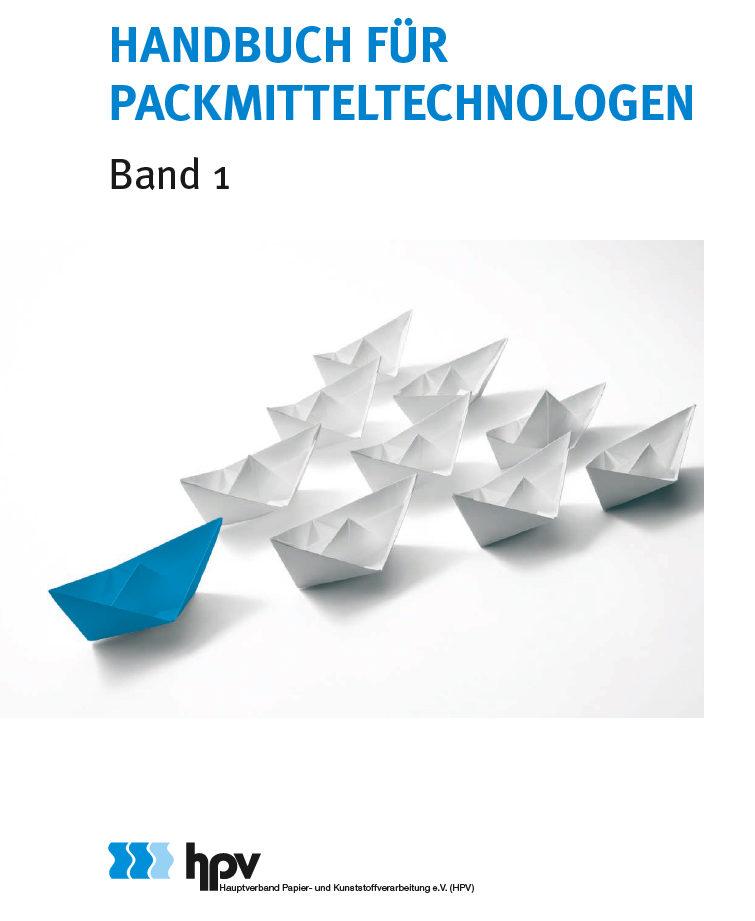 Der erste Band richtet sich an das erste Ausbildungsjahr. (Bild: Hauptverband Papier- und Kunststoffverarbeitung (HPV) e.V.)