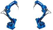 Yaskawa erweitert das Schweißroboter-Portfolio um gleich sechs neue Modelle der AR-Serie, darunter der speziell für die hohen Anforderungen im Bereich Lichtbogenschweißen entwickelte Motoman AR1440. (Quelle: Yaskawa)