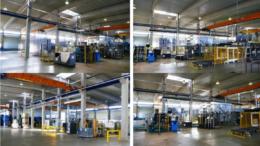 Moderne Produktionshalle mit 5.000 Quadratmetern sichert das Wachstum des erfolgreichen Outsourcing-Systems von wiederverwendbaren Transportprodukten auf Mietbasis. (Bild: Cartonplast Group GmbH)