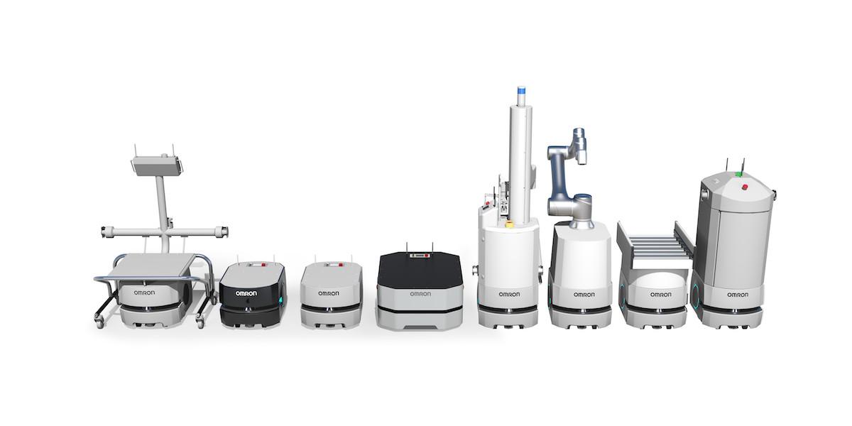Der innovative Fleet Manager ermöglicht die Steuerung mehrerer mobiler Roboter mit unterschiedlichen Nutzlasten über ein einziges System. (Bild: Omron Corporation)