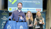 20 Wochen Förderprogramm liegen hinter den Startups Cyclic Design, Ogata, und Wisefood. Die drei Startups konnten Aldi im Juni von ihren Ideen für nachhaltige Verpackungs- und Produktlösungen überzeugen. (Bild: Aldi)