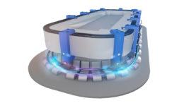 Die vPOWER U015 Pickups von Vahle sorgen für Flexibilität und Höchstleistungen bei Verpackungsmaschinen. (Bild: Vahle)
