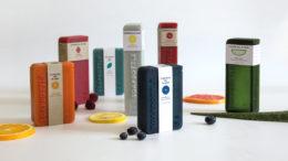 Für die Soapbottle sind verschiedene Größen und Formen möglich. Das Papieretikett wird recycelt. (Bild: Jonna Breitenhuber)
