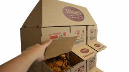 Thimm wurde für die Displays und Verpackungen der Biobäckerei Zemanka mit zwei Wettbewerbspreisen ausgezeichnet: Popai CE Award und Obal roku. (Bild: Thimm Group GmbH + Co. KG)