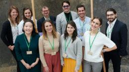 Aldi sucht erneut Startups für nachhaltige Verpackungslösungen. Sieben Startups durften heute in Essen ihre Ideen vorstellen. (Bild: obs/Aldi)