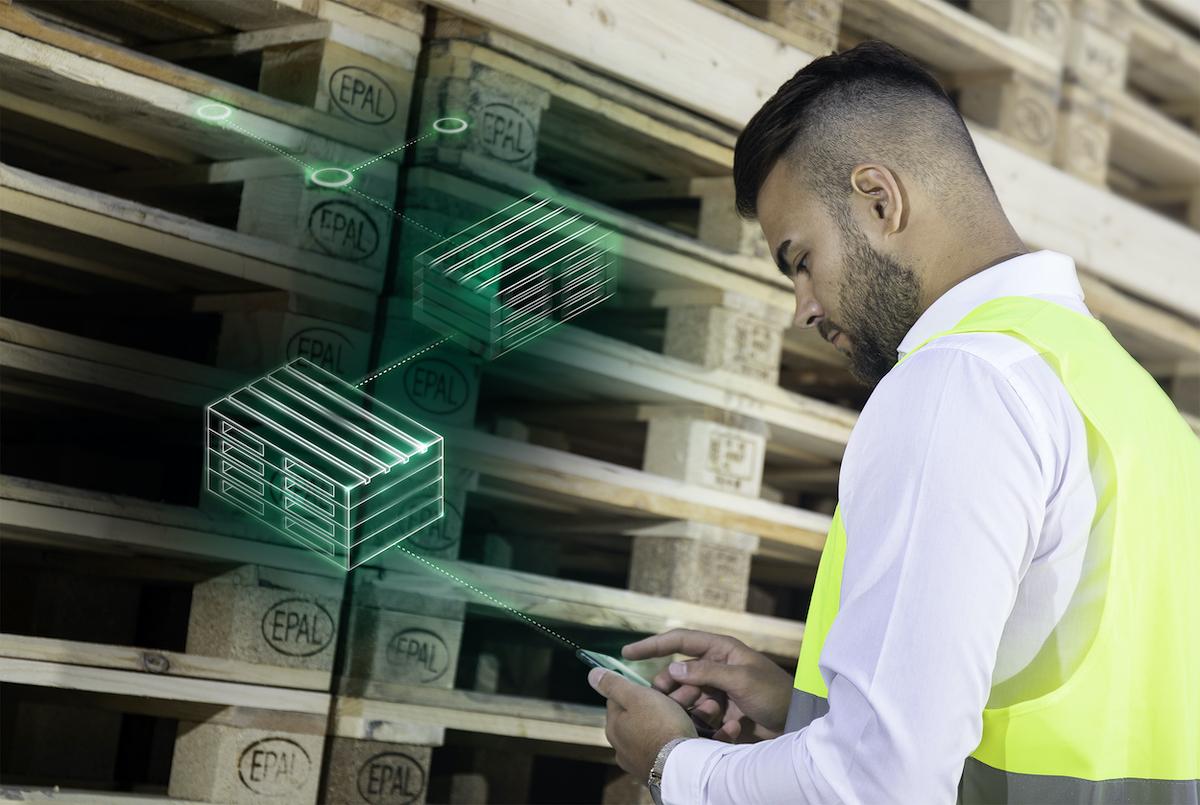 Die Menge der überlassenen Europaletten wird unmittelbar gutgeschrieben. Aus dem Palettenguthaben können dann zu jedem Zeitpunkt nach Bedarf Paletten in der gewünschten Qualität abgerufen werden. (Bild: Paki Logistics GmbH)