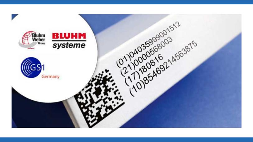 Pharmaverpackung mit Datamatrix-Code. (Bild: Bluhm Systeme GmbH)