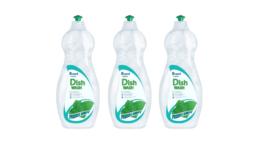 Der neue Wash-off Haftkleber für Etiketten 62Rpw erzielt bei Fo-lienetiketten eine Abwaschrate von 100 Prozent. (Bild: Herma)