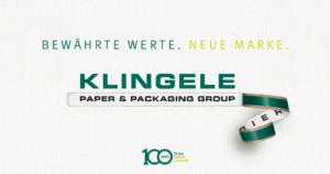 """Neuer Markenauftritt: Zukünftig tritt Klingele unter der Dachmarke """"Klingele Paper & Packaging Group"""" auf, die den bisherigen Namen """"Klingele Papierwerke"""" ersetzen wird. (Bild: Klingele Papierwerke GmbH & Co. KG)"""