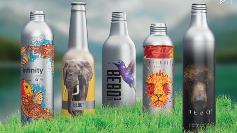 Die Infinity Aluminium Bottle kann für zahlreiche Produktkategorien verwendet und immer wieder ohne Qualitätsverlust recycelt werde. (Bild: Ball)