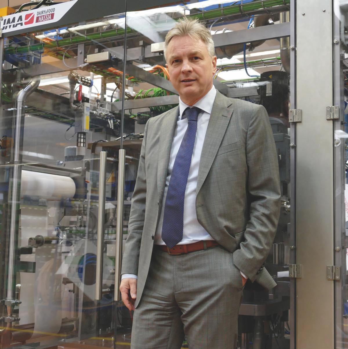 Laut dem CEO Thomas Becker haben die Unternehmen beim Absatz ihrer Produkte eine Menge Luft nach oben. (Bild: IMA Dairy & Food)