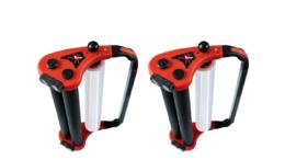 Das Handabrollersystem ENOergo besteht aus einem innovativen Abroller und einer speziell dafür entwickelten Hochleistungsstretchfolie. (Bild: Knüppel)
