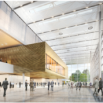 """Die """"Neue Messe Süd"""" bietet moderne Architektur und Technik sowie etwa 500 Quadratmeter mehr Platz. (Bild: Messe Düsseldorf)"""