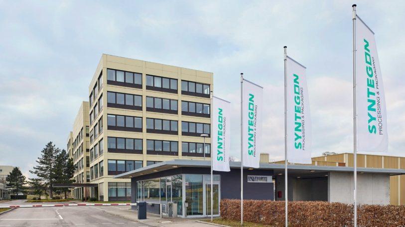 Die Syntegon Firmenzentrale in Waiblingen.