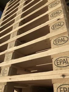 EPAL Palettenstapel