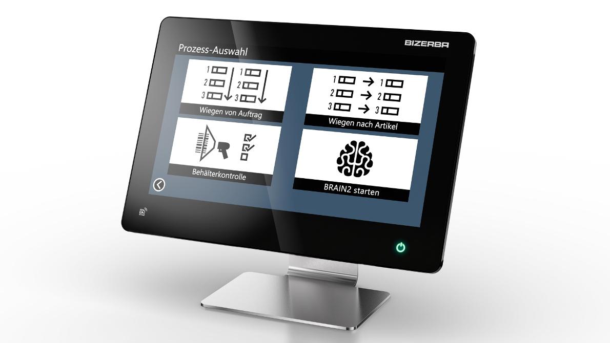 Der Industrie-PC iS75 eignet sich ideal für den Einsatz in rauer Umgebungsbedingung. (Bild: Bizerba)