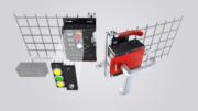 Die Schutztürabsicherung MGB2 Modular kann alle relevanten Funktionen rund um die Schutztür in einem Gerät integrieren. (Bild: Euchner)