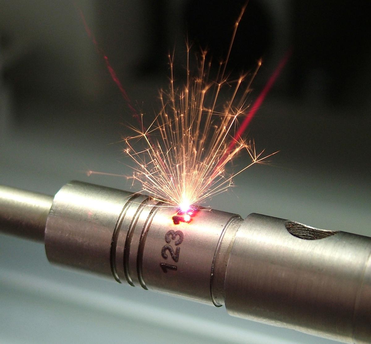 Lasercodierung