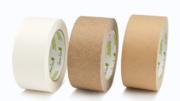 Das neue Selbstklebeband aus Papier erweitert das Green Line Sortiment von Monta. (Bild: Monta)