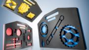 Für den sicheren Transport: Koffereinsätze aus KoeppCell-Material K/PE. (Bild: W. Köpp)