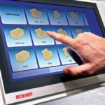 Touchscreen für einfache Auswahl des richtigen Schachteltyps aus der FEFCO Code-Bibliothek. Bild: Kolbus