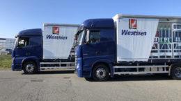 Güttler Logistik mit neuen LKWs