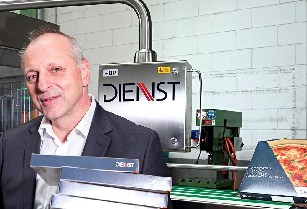 Roland Kaluza, Konstruktionsleiter bei Dienst Verpackungstechnik