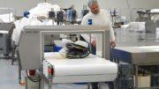 Die Metalldetektoren arbeiten mit MSF-Technologie und einem Softwarealgorithmus, der das Produktsignal der Big Bags unterdrückt.