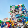Müllberg Plastikmüll
