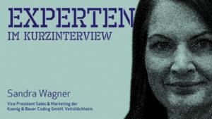 Sandra Wagner, Koenig & Bauer Coding GmbH