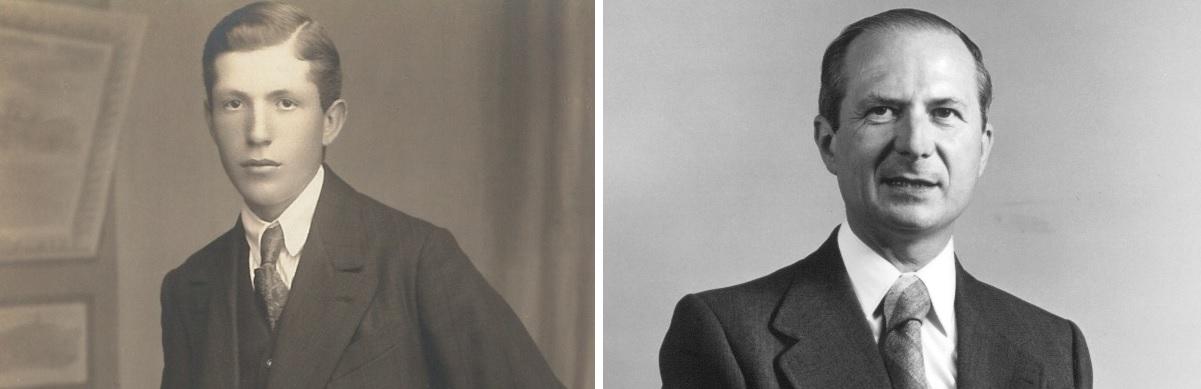 Gründer Karl Marbach sen. (links) wagte 1923 den Schritt in die Selbstständigkeit. Karl Marbach jun.(rechts) zog sich im Jahr 2007 aus der Geschäftsführung zurück.